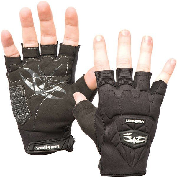 Перчатки Valken Impact Half Finger Gloves